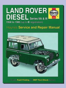 HA2WM529 Land Rover Series2a Series3 Diesel Haynes Workshop Manual