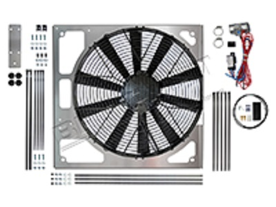 DA8968 REVOTEC ELECTRIC FAN KIT DEFENDER TD5 DISCOVERY 2 TD5 SUCTION