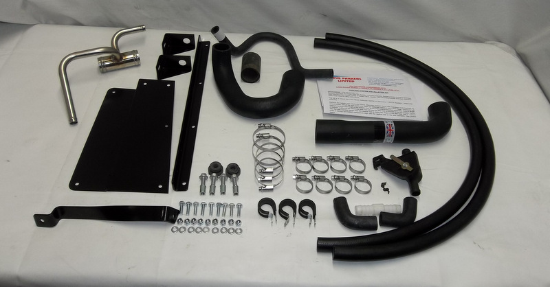 SPCK338S3W 300TDI ENGINE CONVERSION COOLING SYSTEM KIT SERIES2 2A SERIES3