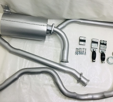 EXHS325DLHD Conversion Exhaust 2.5 Diesel Series Land Rover SWB LHD